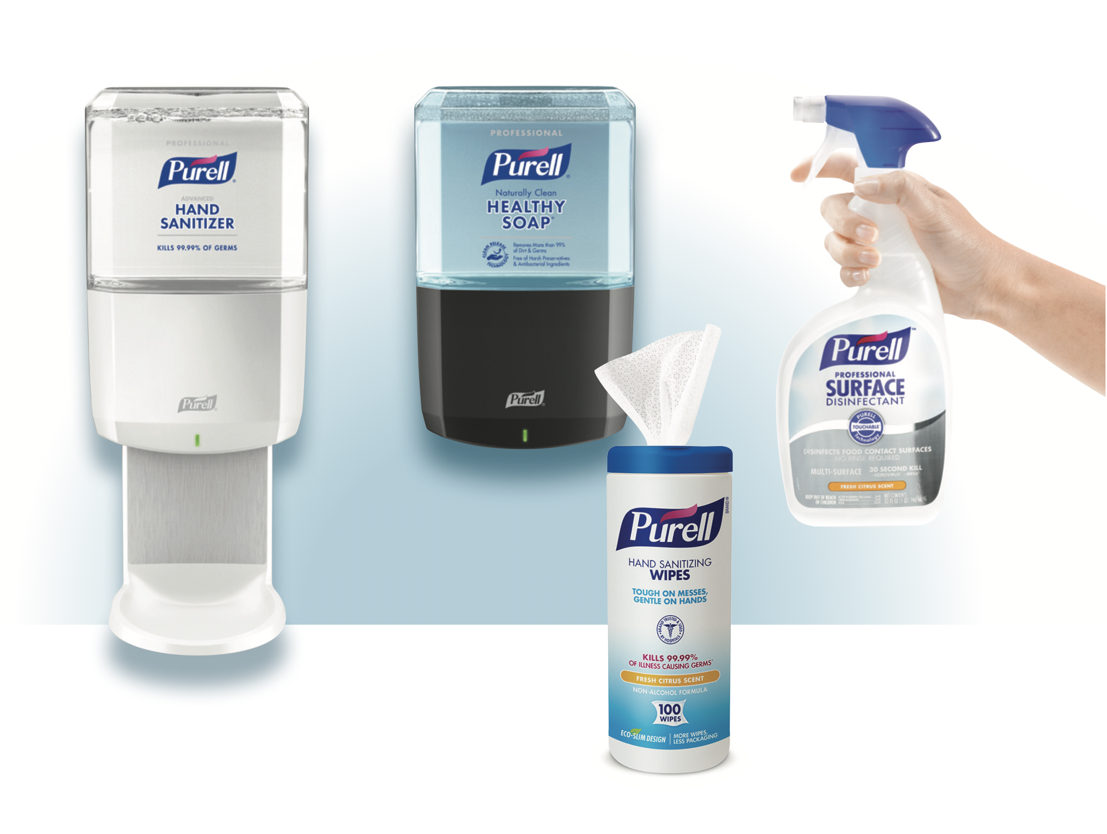 gojo is going beyond successful purell brand