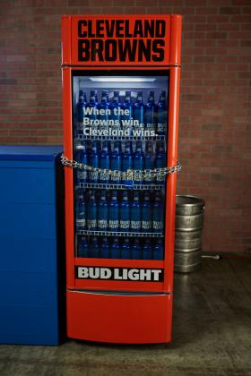 Bud Light U0027Victory Fridgesu0027 To Reward Clevelanders With Free Beer Following  Brownsu0027 Next Win