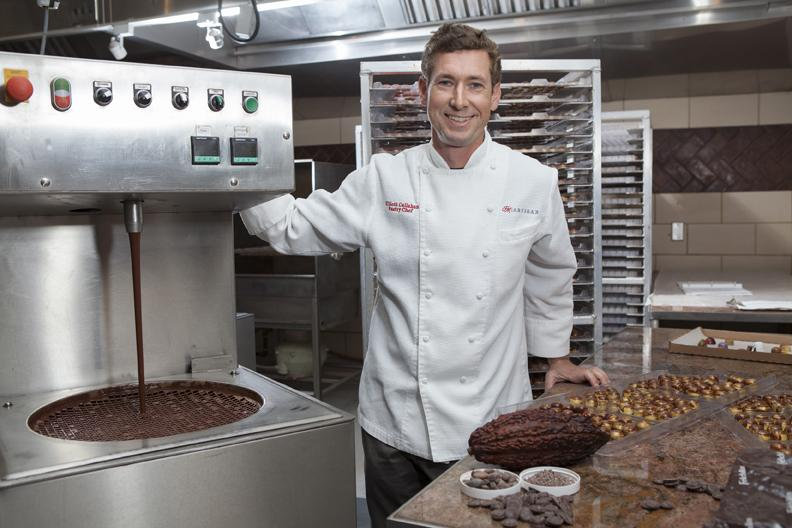Dessert Is A Delicacy For Fannie May Pastry Chef
